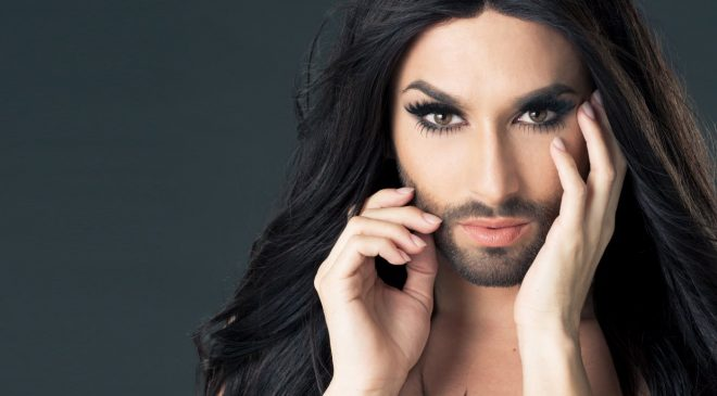 Conchita Wurst #News #New_song #Champagne_Kisses