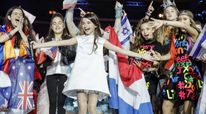 JUNIOR EUROVISION 2016: Το βραβείο στη Γεωργία!