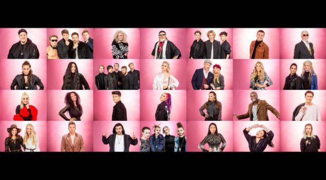 ΣΟΥΗΔΙΑ: Η σειρά εμφάνισης στο Melodifestivalen 2017!