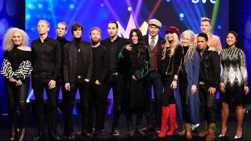 ΣΟΥΗΔΙΑ: Πρόβες Δ' Ημιτελικού του Melodifestivalen 2017! [snippets upd]