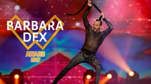 EUROVISION 2017: Το βραβείο Barbara Dex στον Slavko Kalezić!