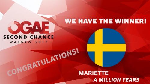 OGAE Second Chance Contest 2017: Η Σουηδία στην κορυφή!