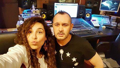 ΕΛΛΑΔΑ: Τερζή-Καλημέρης μαζί στο studio! (Φωτογραφικό υλικό)