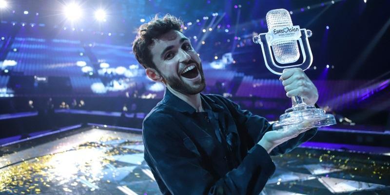Ο νικητής της Eurovision 2019, Duncan Laurence - EBU/Thomas Hanses